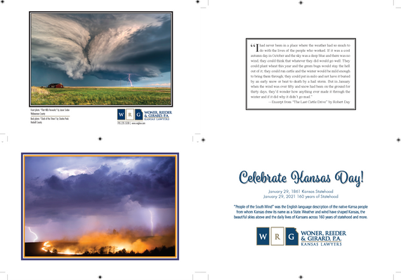 2021 Kansas Day Card