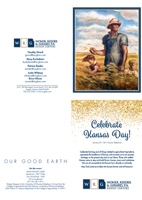 2019 Kansas Day Card