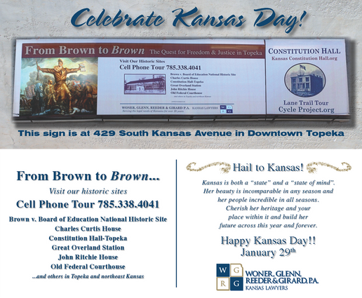 2013 Kansas Day Card