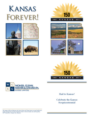 2011 Kansas Day Card