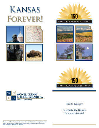 2011 Kansas Day Card