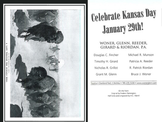 2007 Kansas Day Card