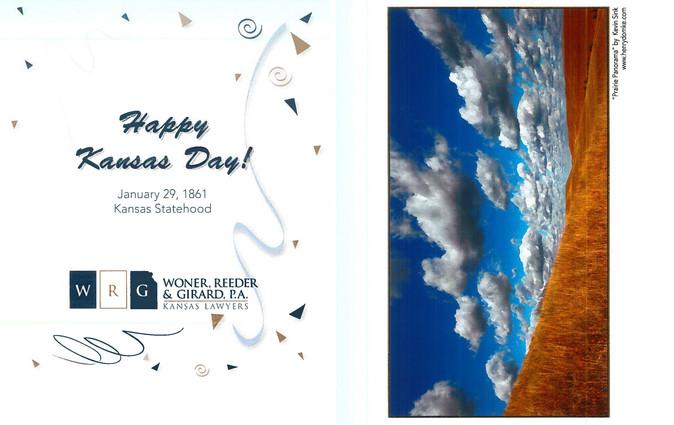 2017 Kansas Day Card