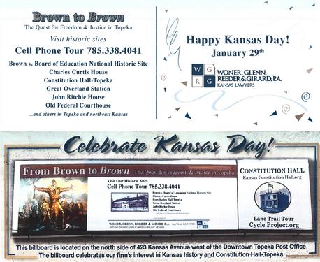 2013 Kansas Day Card