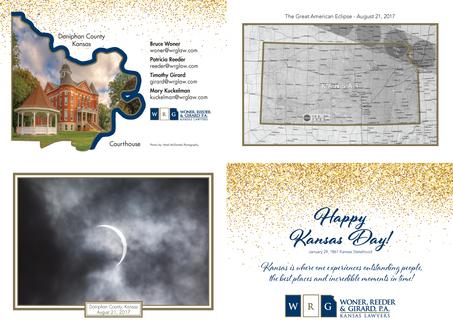 2018 Kansas Day Card