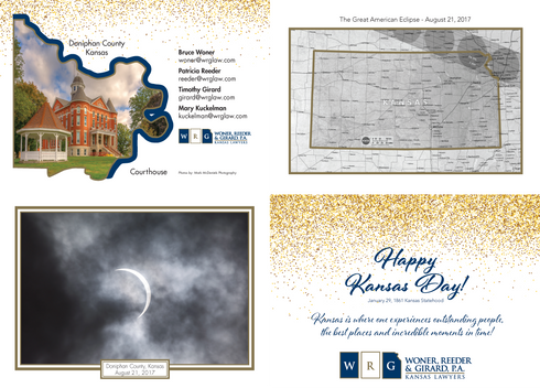 2018 Kansas Day Card