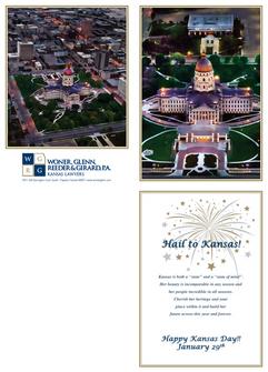 2015 Kansas Day Card