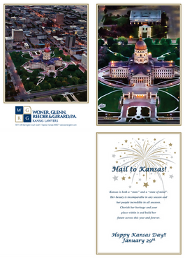 2015 Kansas Day Card