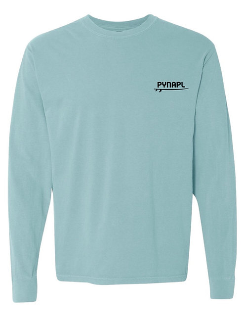Long Sleeve Flag in Chalky Mint