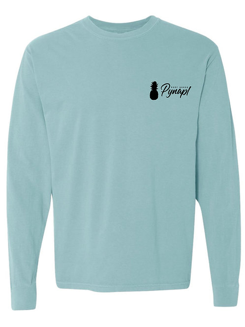 Long Sleeve Tri-apl in Chalky Mint