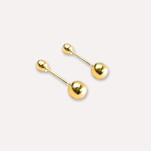 Broquel de oro dormilón 3 mm.