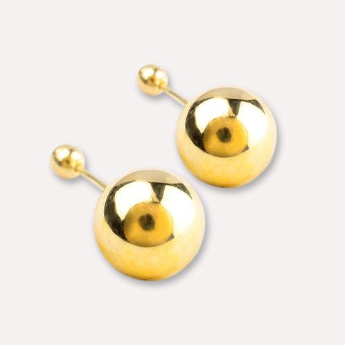 Broquel de oro dormilón 8 mm.
