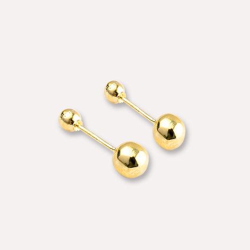 Broquel de oro dormilón 4 mm.