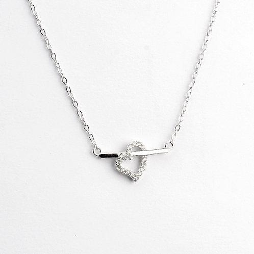 Gargantilla de plata .925 Corazón