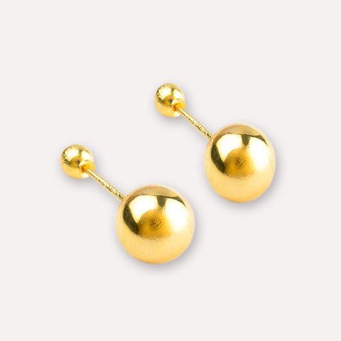 Broquel de oro dormilón 6 mm.