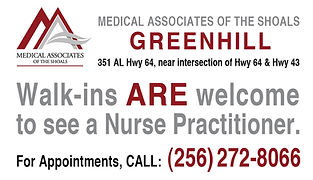 Greenhill Walk-ins Welcome