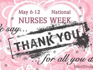Thankful for Nurses