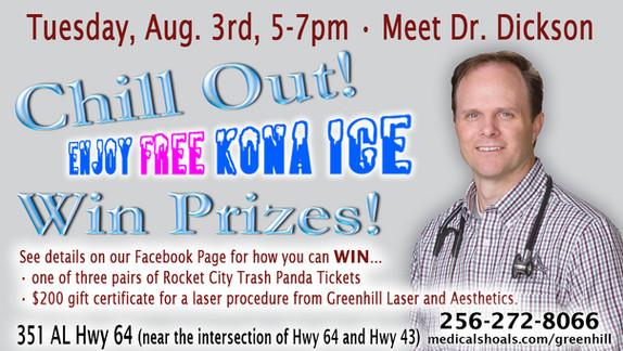Meet Dr. Robert Dickson - Aug. 3rd