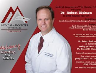 Welcoming Dr. Robert Dickson