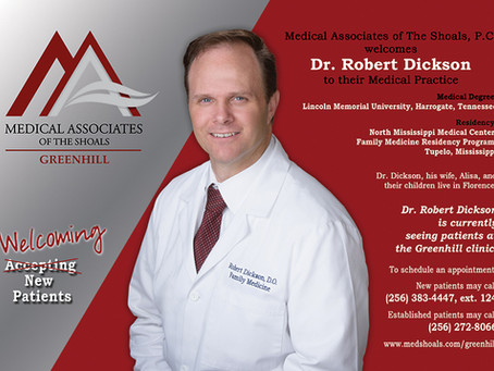 Welcoming Dr. Robert Dickson