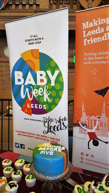 Monday 12th November launch day of baby week 2018