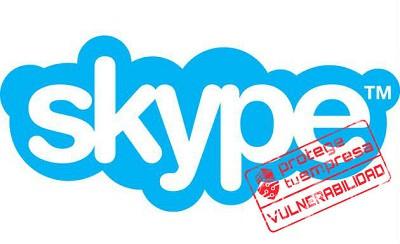 Vulnerabilidad sin solución en la aplicación clásica de Skype Windows