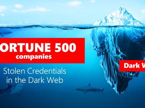 Estado de credenciales robadas en la Dark Web de las compañías Fortune 500