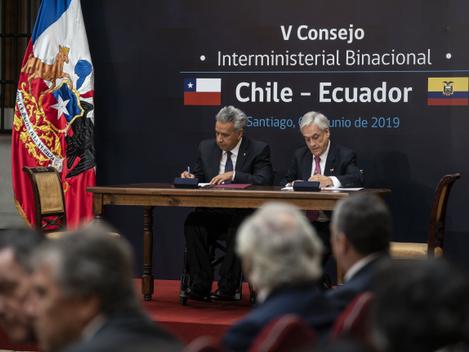 CIBERSEGURIDAD: CHILE Y ECUADOR SUSCRIBEN ACUERDO