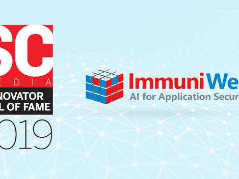 """ImmuniWeb recibe el estatus de """"Salón de la Fama"""" Elite en el Premio al Innovador Reboot 1"""