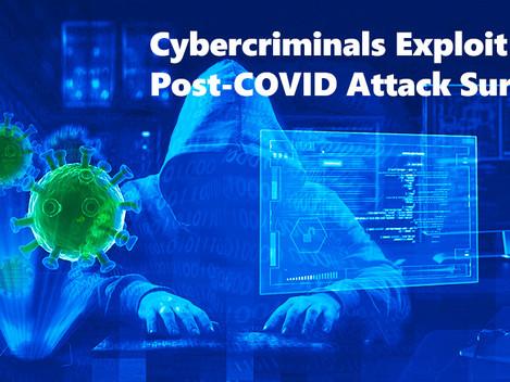 Los ciberdelincuentes explotan agresivamente la superficie de ataque post-COVID