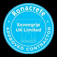 Ronacrete Approved Contractor Logo Eezee