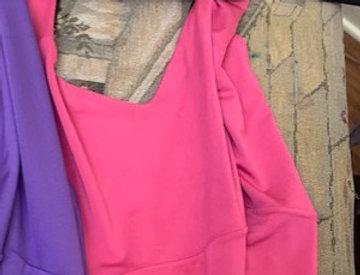Roxana Vincelli Halter Top - Pink reversible black