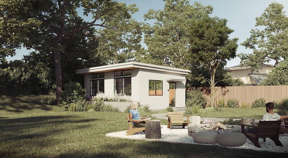 One bedroom additional dwelling unit (ADU)