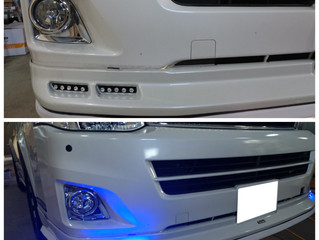 ハイエース S-GL LEDデイライト 計20発!✨