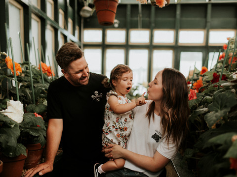 THE WOODS | FAMILY SESSION