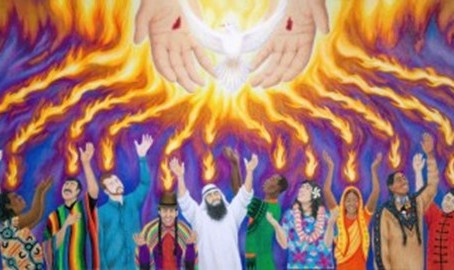 Welcome to our Holy Communion Service on Pentecost Sunday