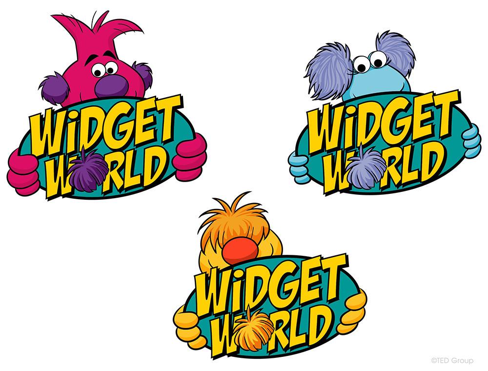 Widget World - logos