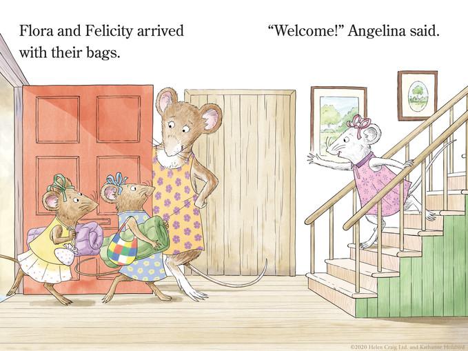 Angelina Ballerina for Simon & Schuster.