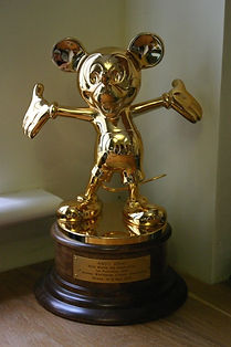 Disney award for Andrew Grey
