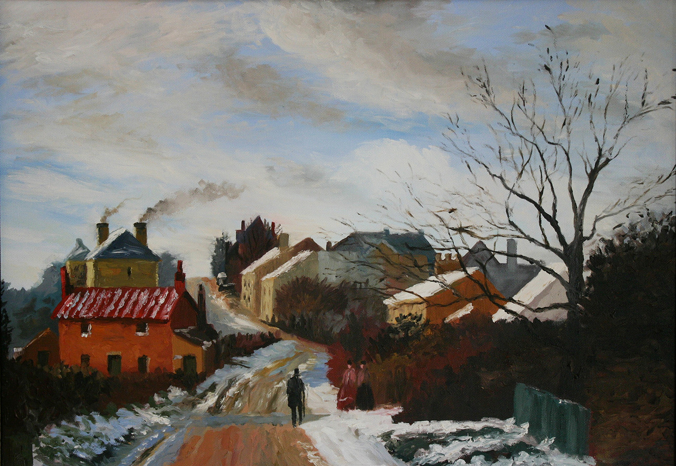'Fox Hill, Upper Norwood' - A study.