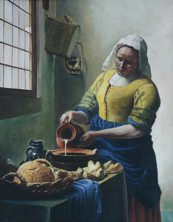 'The Milkmaid' - A study