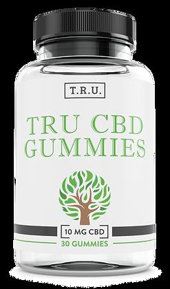 T.R.U. CBD Gummies Front Label