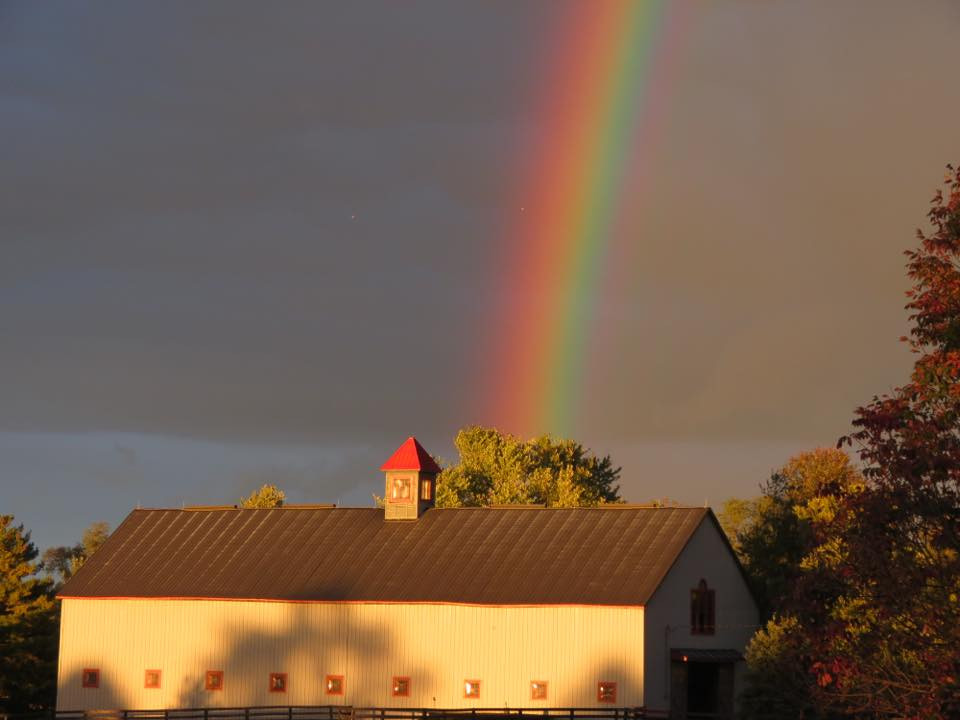 Rainbow Over Oak Lodge USA