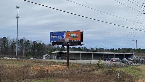 Billboards in Raleigh, North Carolina