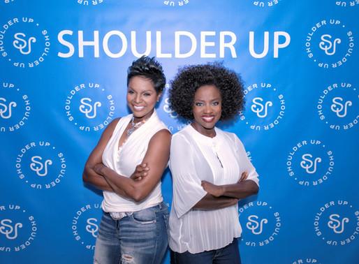 Atlanta CEO and Academy Award winning actress 'Shoulder Up' for women