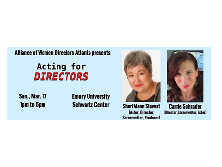 Acting for Directors Workshop (Atlanta)!