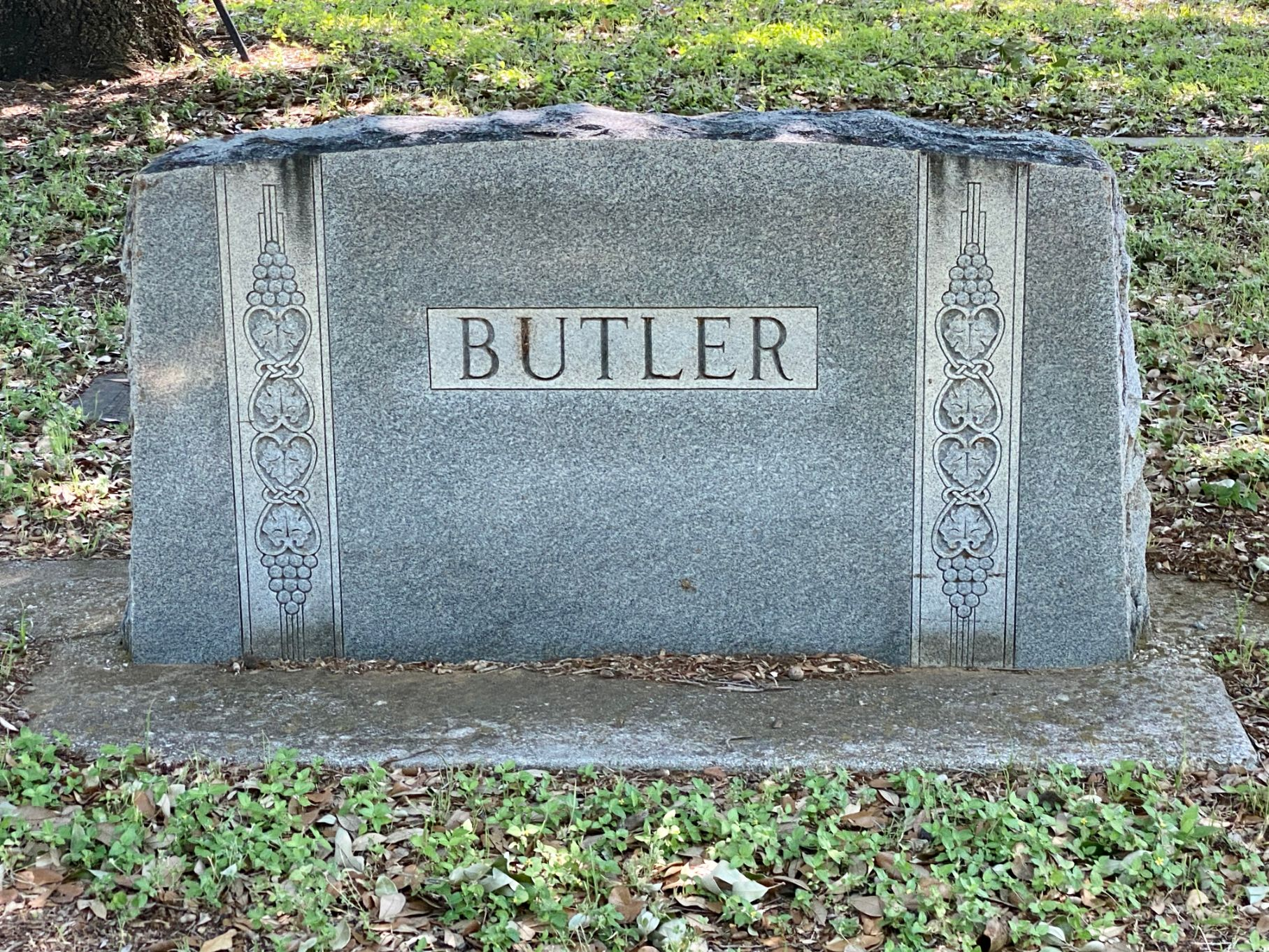 Butler Family Plot