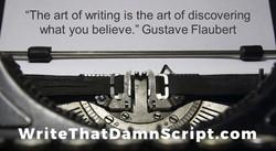 Write That Damn Script