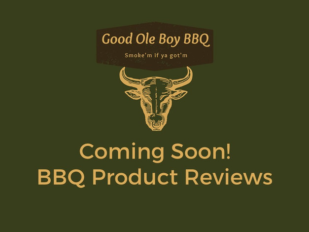 BBQ Product Reviews