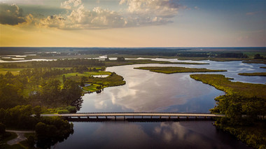 Pungo Charters - Aerial View